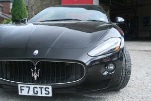 Black Maserati tyres