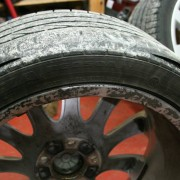 Rear runflat's showing extreme wear